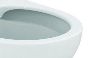 Toilette ohne Spülrand